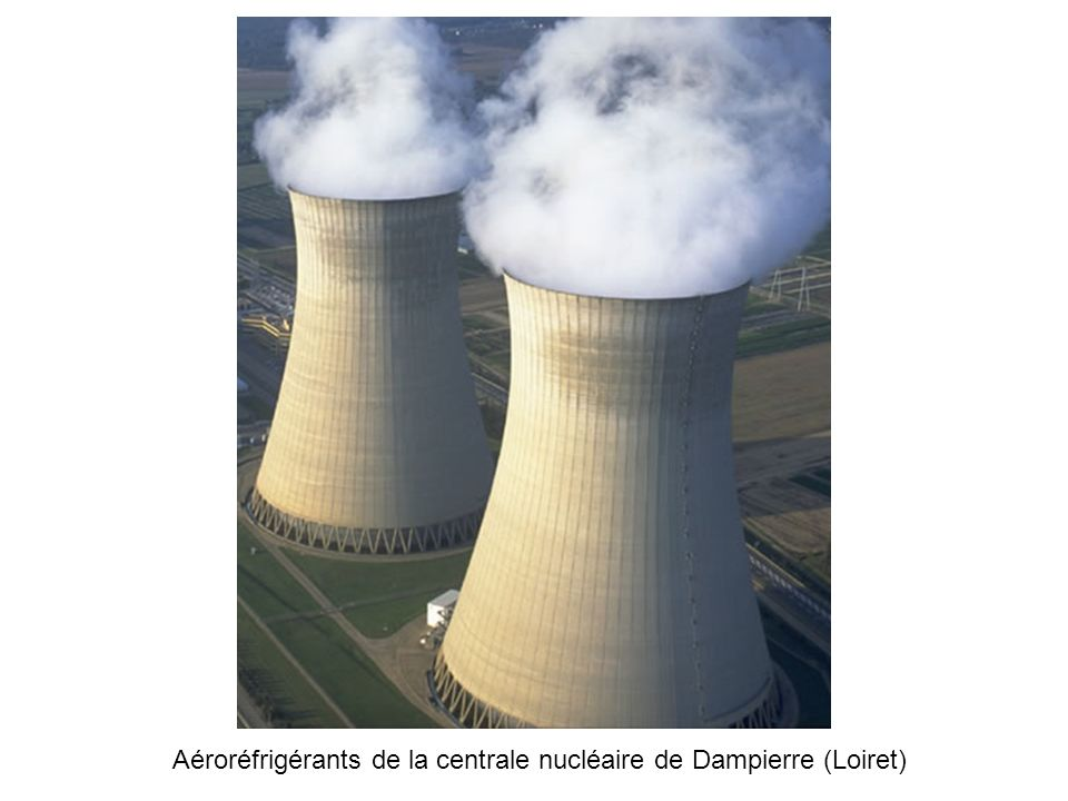 Aéroréfrigérants de la centrale nucléaire de Dampierre (Loiret)