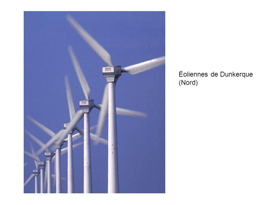 Éoliennes de Dunkerque (Nord)
