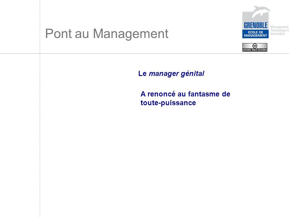 Pont au Management Le manager génital