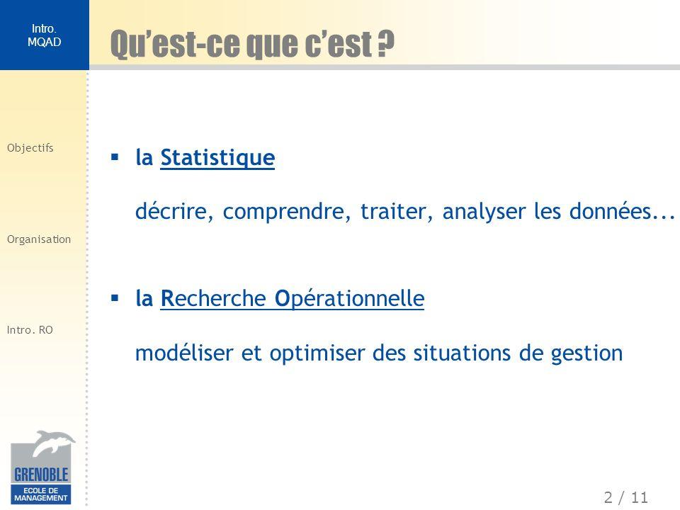 Qu'est-ce que c'est la Statistique décrire, comprendre, traiter, analyser les données...