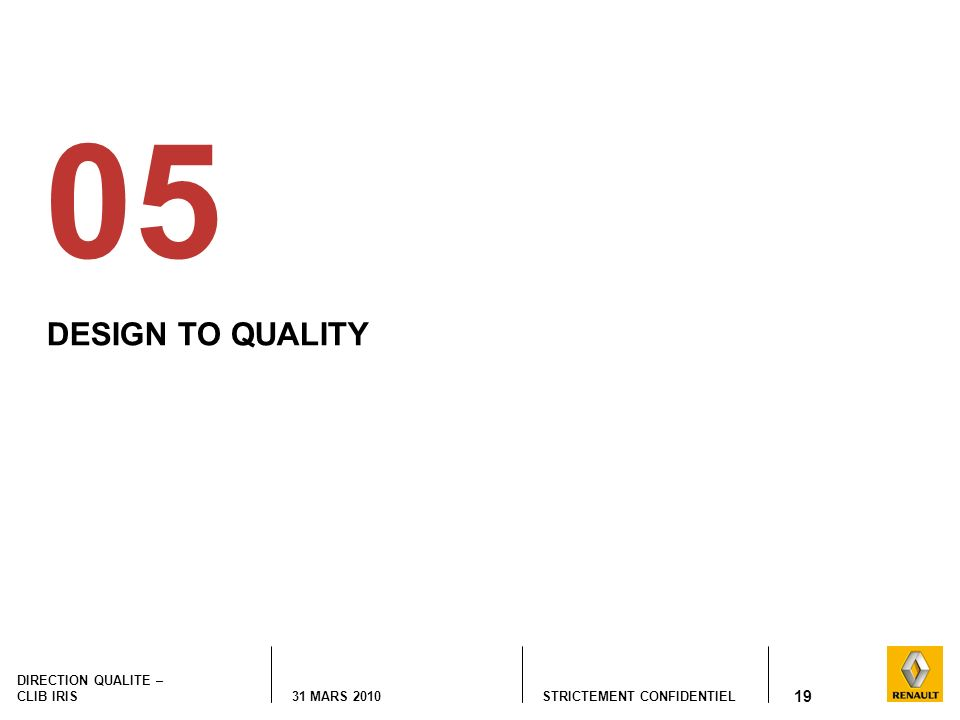 05 DESIGN TO QUALITY