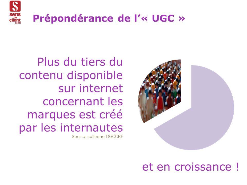 Prépondérance de l'« UGC »