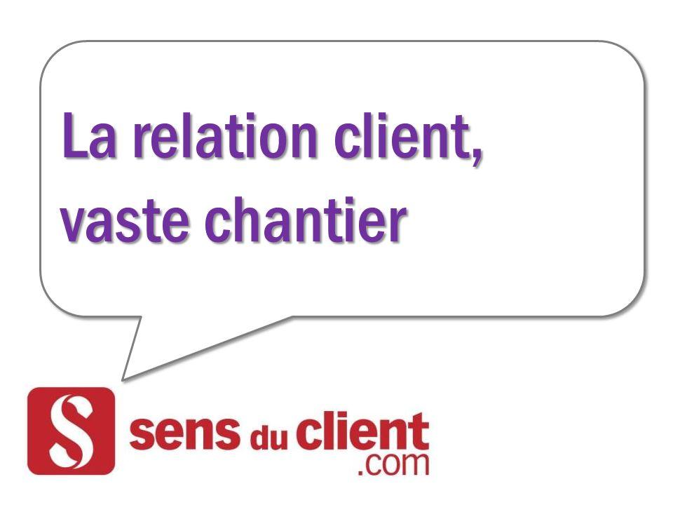 La relation client, vaste chantier