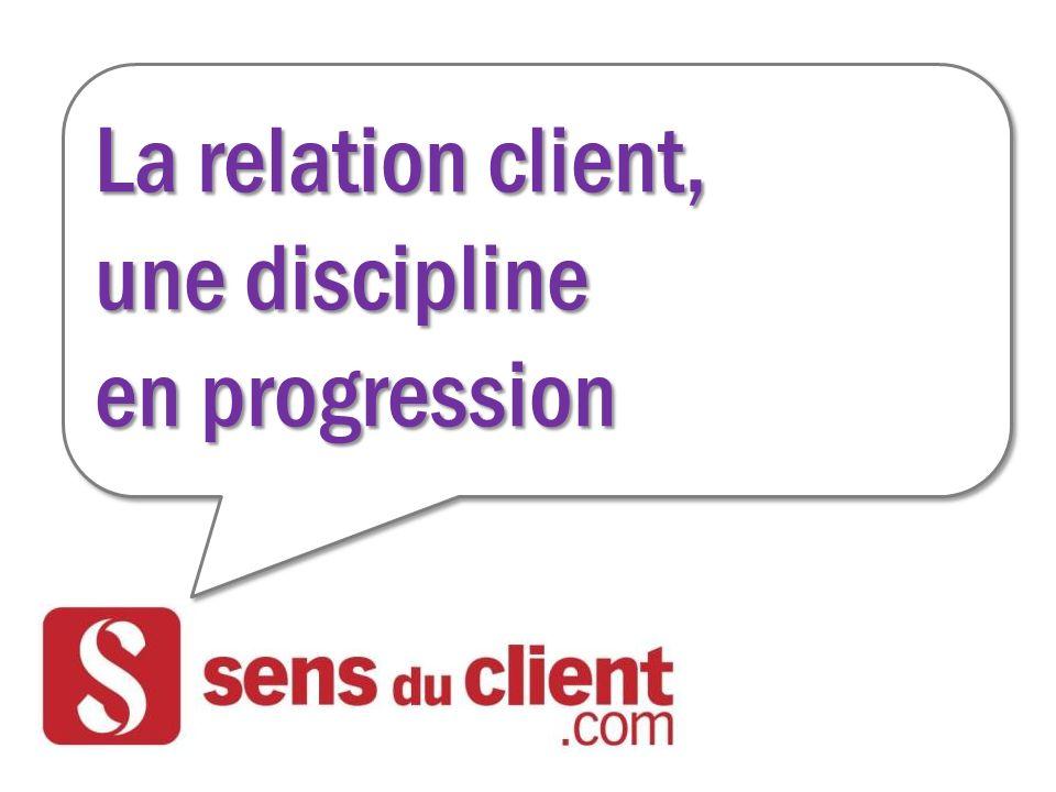 La relation client, une discipline en progression