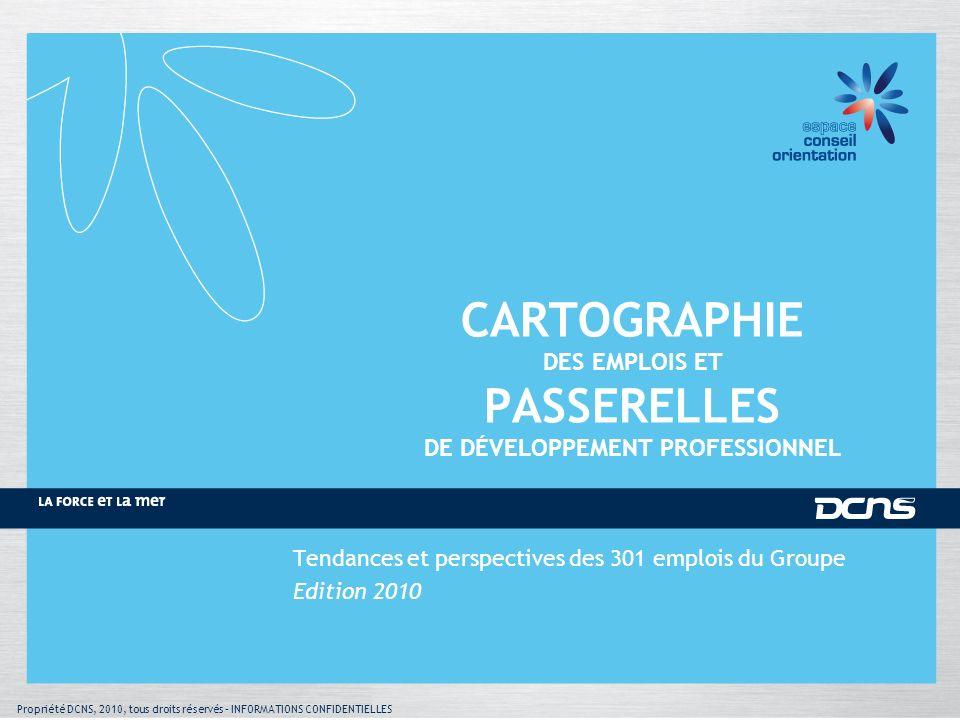 CARTOGRAPHIE DES EMPLOIS ET PASSERELLES DE DÉVELOPPEMENT PROFESSIONNEL