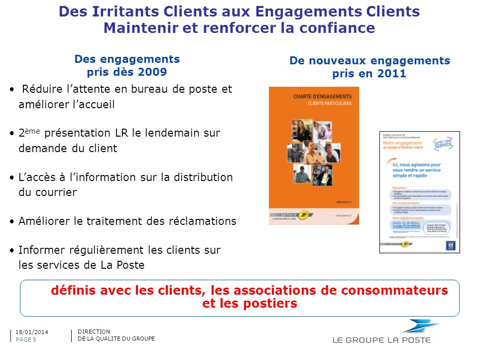 Des Irritants Clients aux Engagements Clients