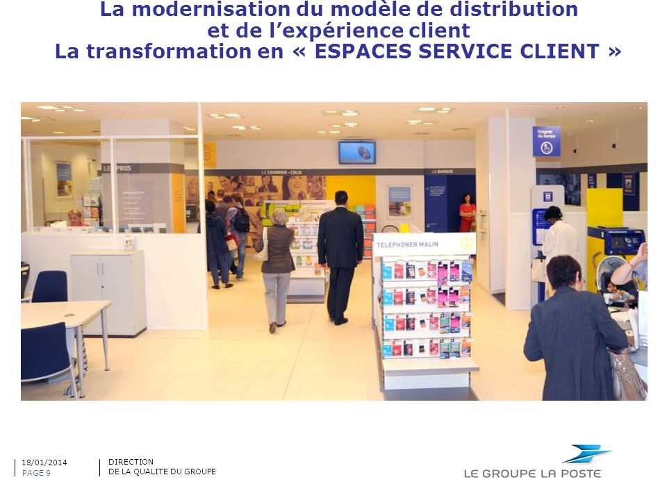 La modernisation du modèle de distribution et de l'expérience client