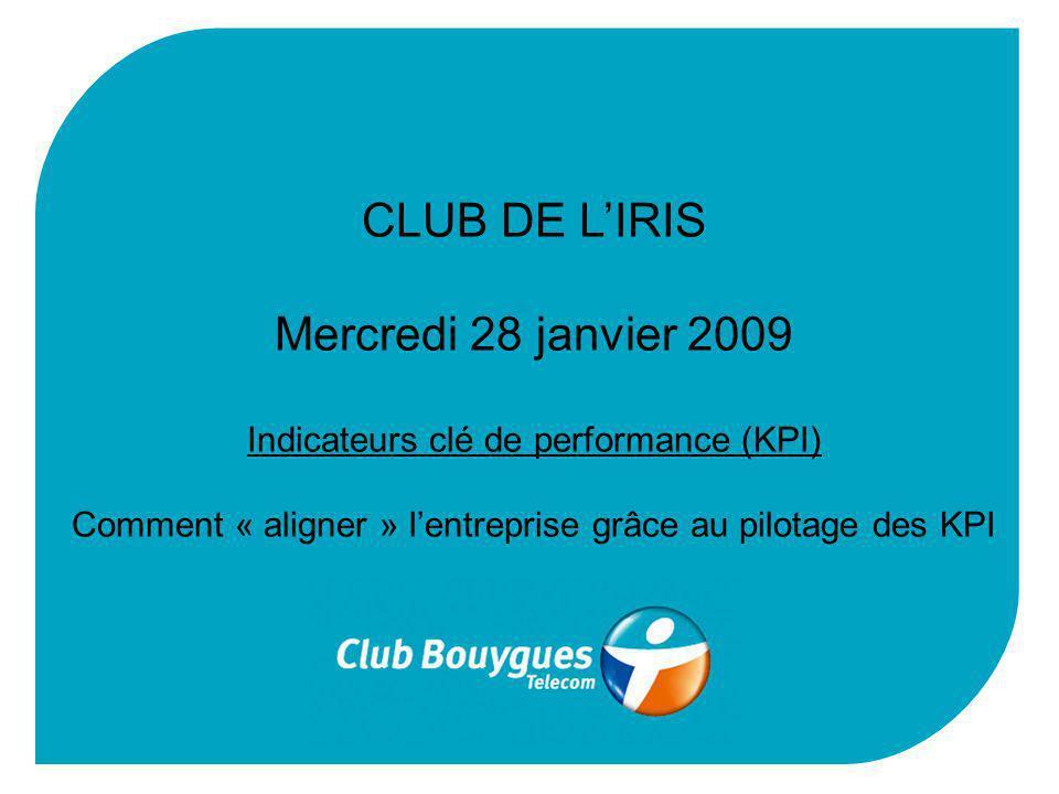 CLUB DE L'IRIS Mercredi 28 janvier 2009