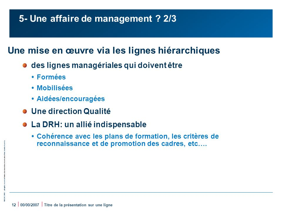 5- Une affaire de management 2/3
