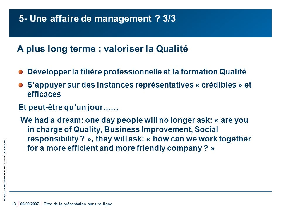 5- Une affaire de management 3/3