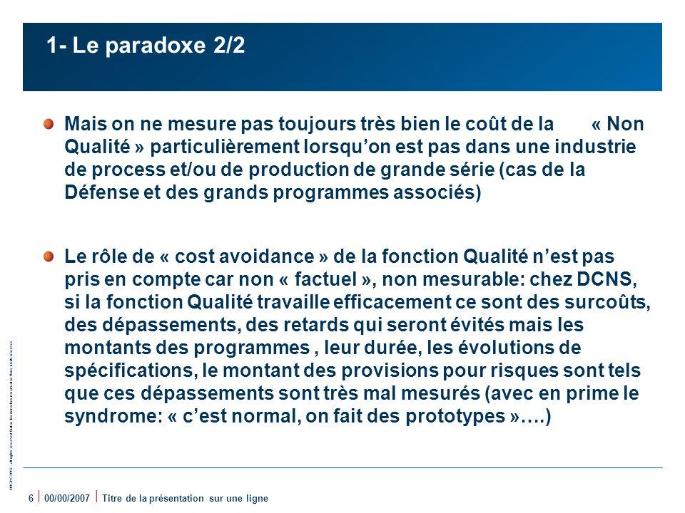 1- Le paradoxe 2/2