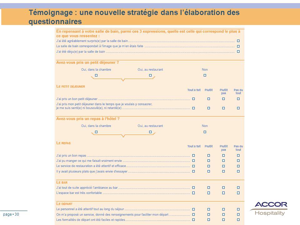 Témoignage : une nouvelle stratégie dans l'élaboration des questionnaires