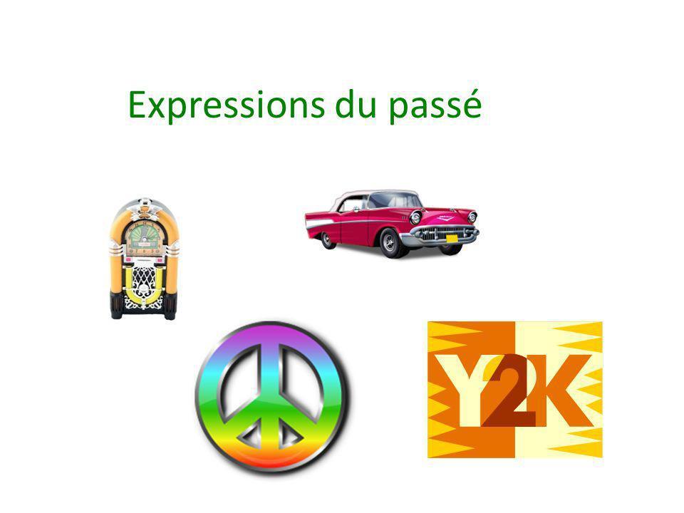 Expressions du passé