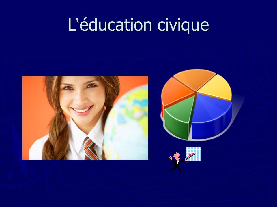 L'éducation civique