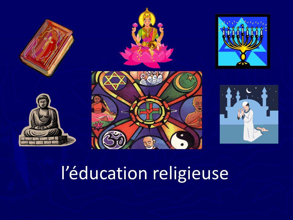 l'éducation religieuse
