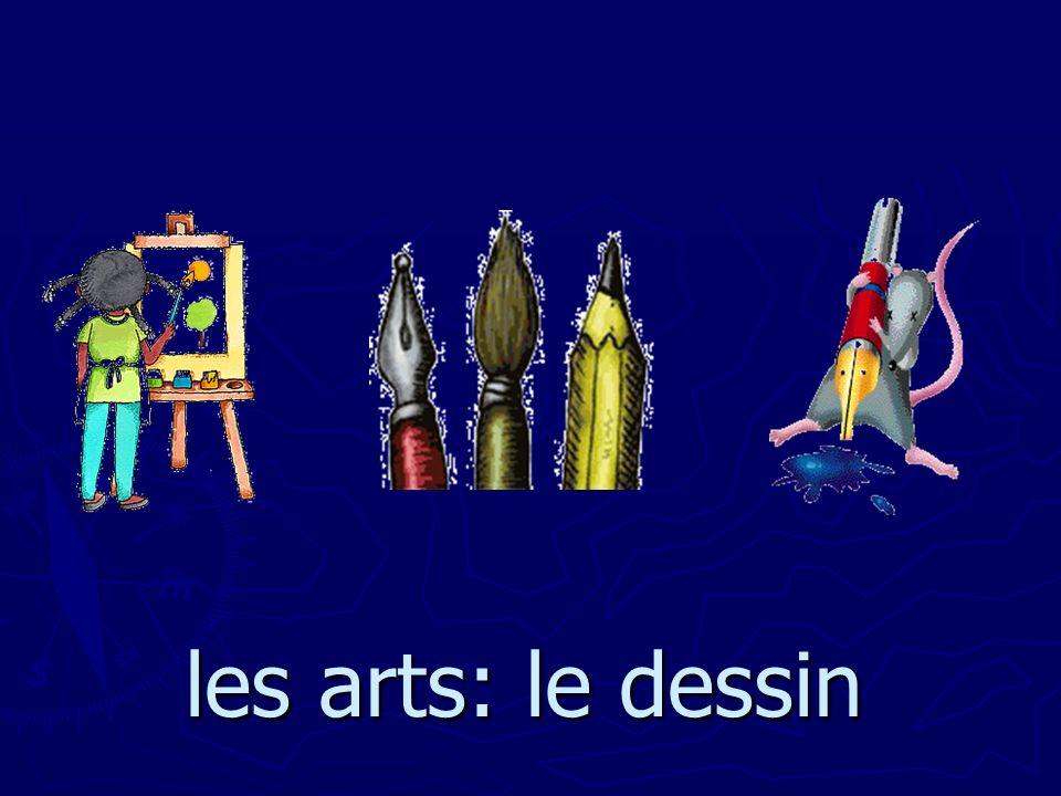 les arts: le dessin