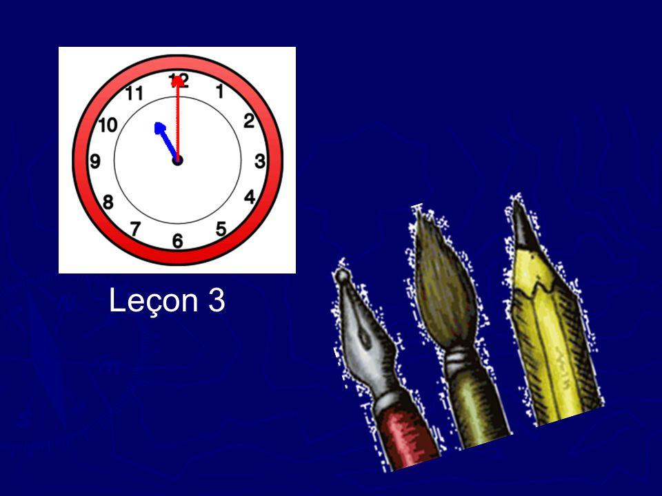 Leçon 3