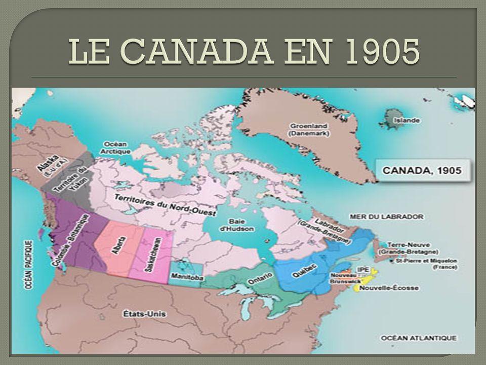 LE CANADA EN 1905