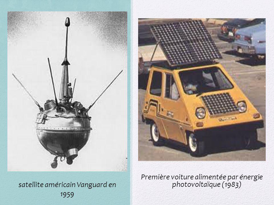 Première voiture alimentée par énergie photovoltaïque (1983)