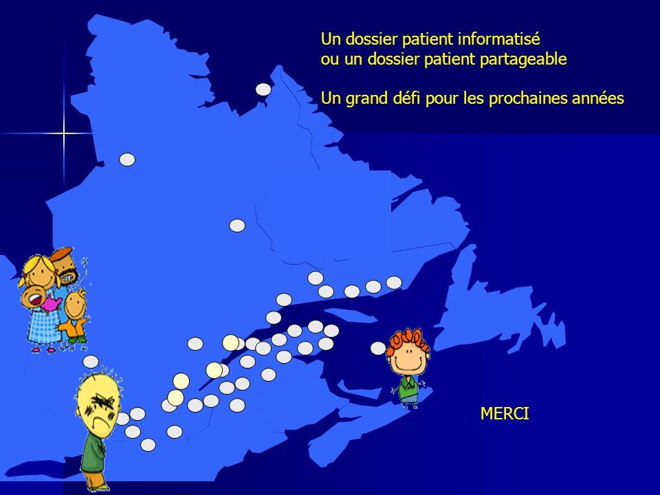 Un dossier patient informatisé