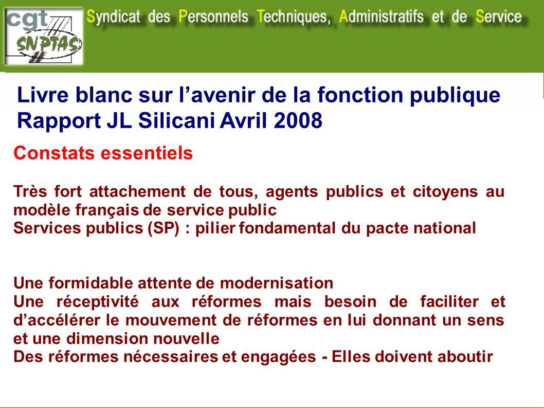 Livre blanc sur l'avenir de la fonction publique