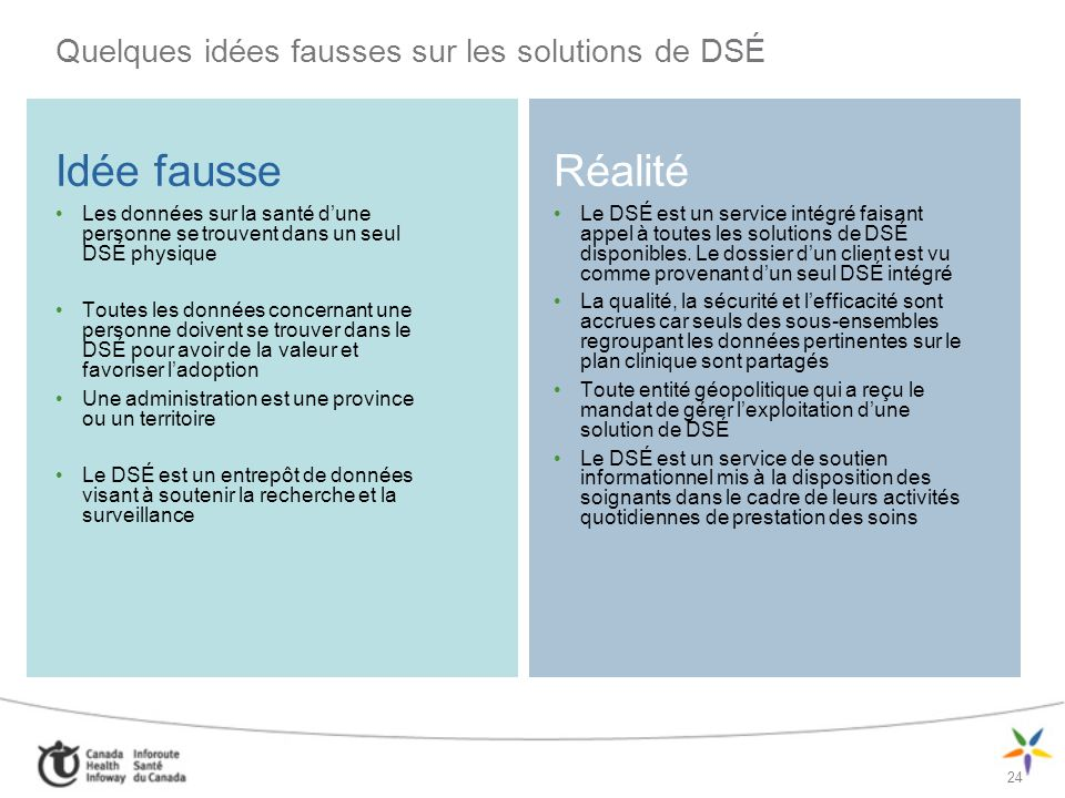 Quelques idées fausses sur les solutions de DSÉ