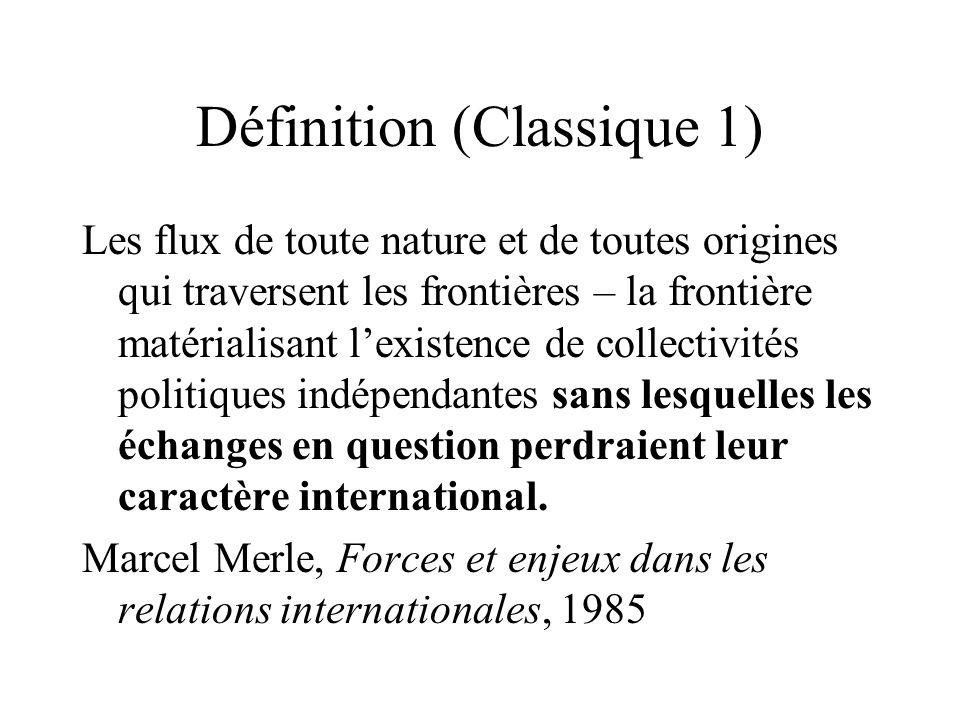 Définition (Classique 1)