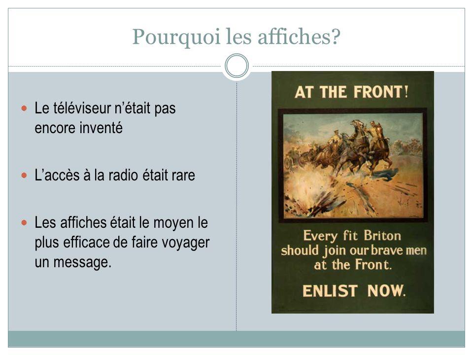 Pourquoi les affiches Le téléviseur n'était pas encore inventé