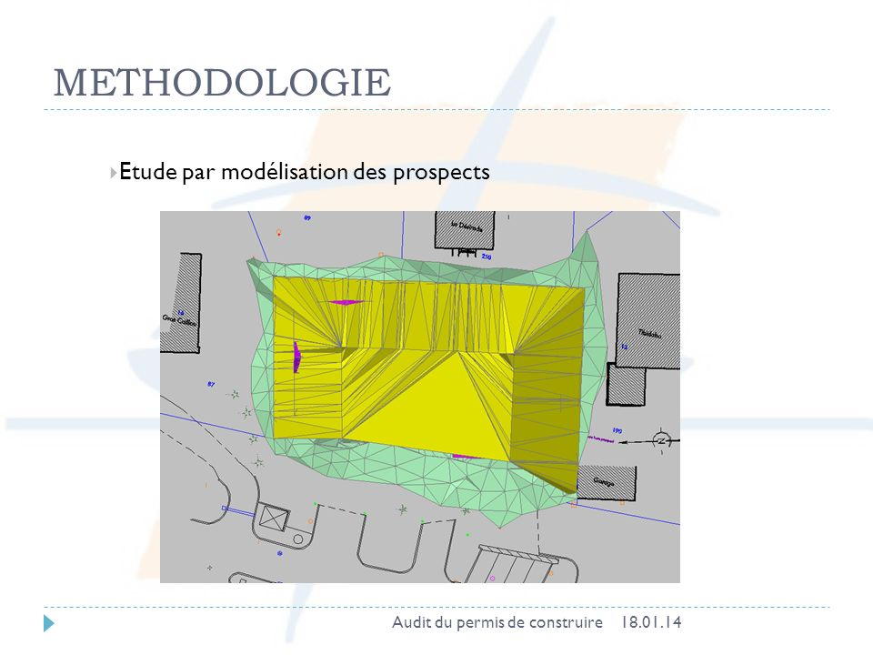 METHODOLOGIE Etude par modélisation des prospects