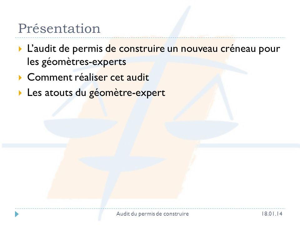 Audit du permis de construire