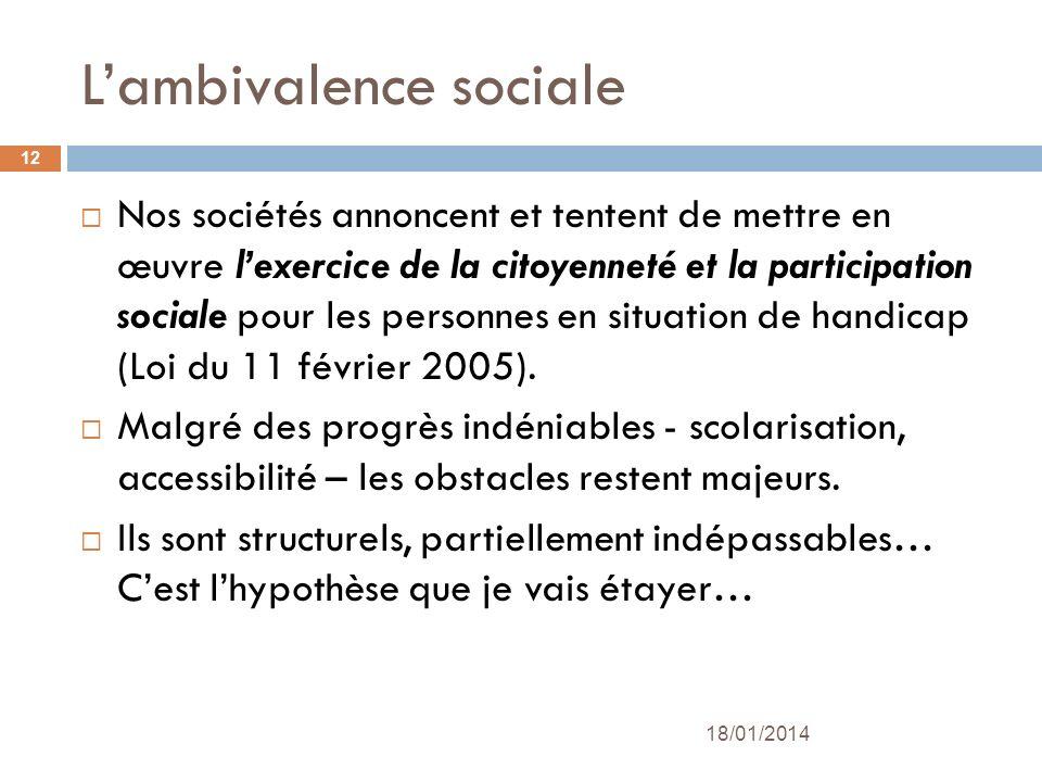 L'ambivalence sociale