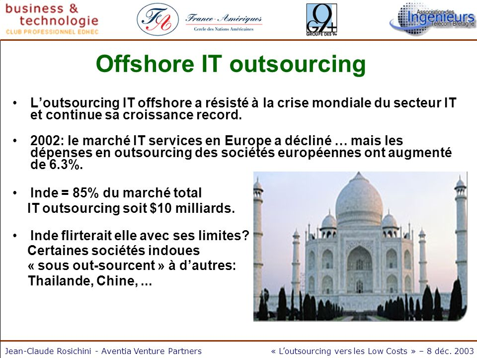 Offshore IT outsourcing