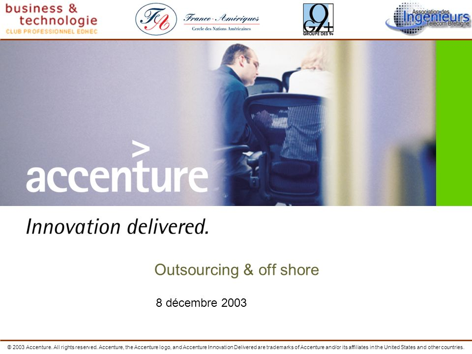 Outsourcing & off shore