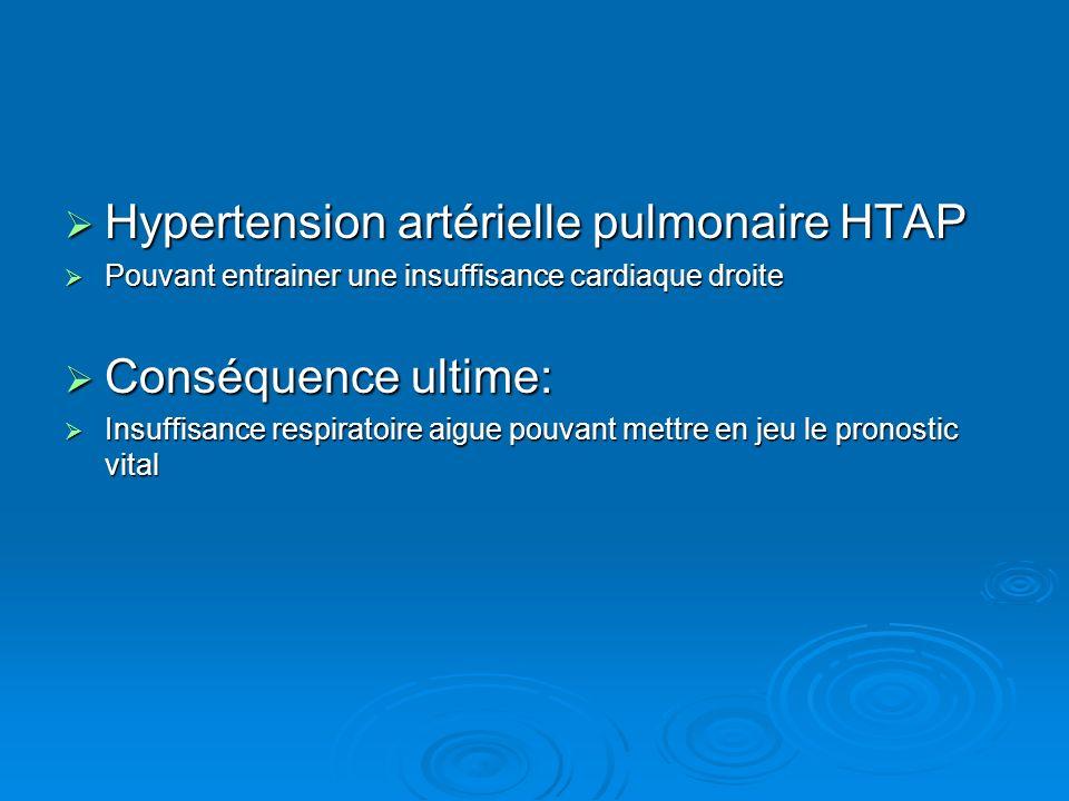Hypertension artérielle pulmonaire HTAP