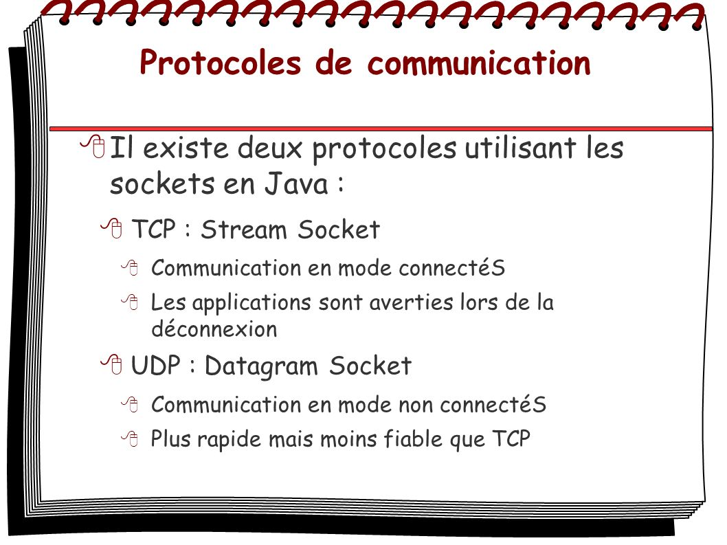 Protocoles de communication