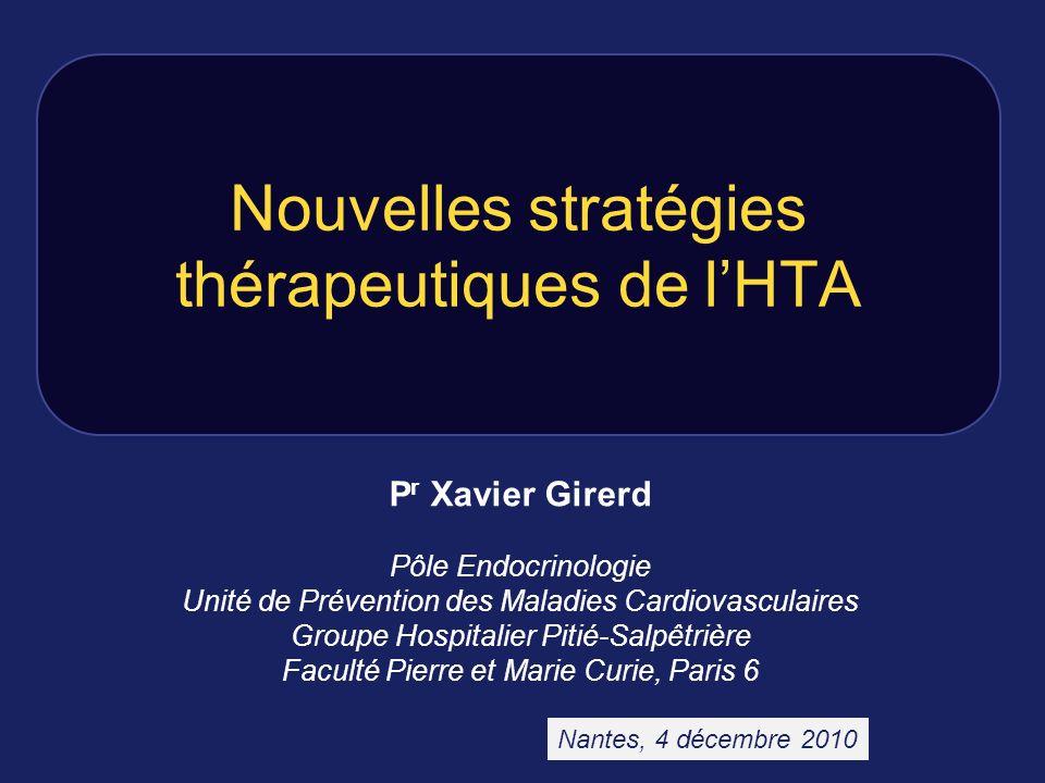 Nouvelles stratégies thérapeutiques de l'HTA
