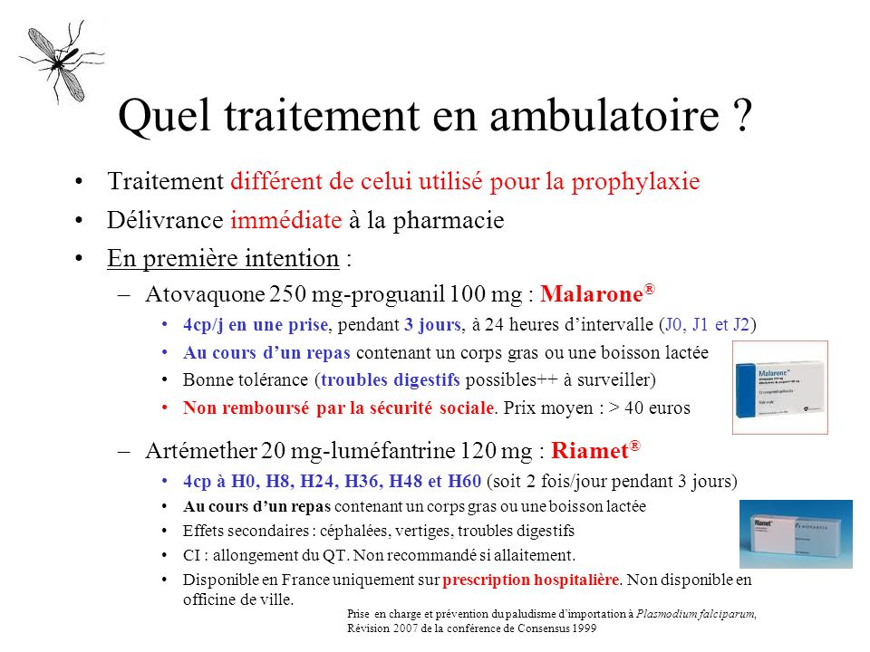 Quel traitement en ambulatoire
