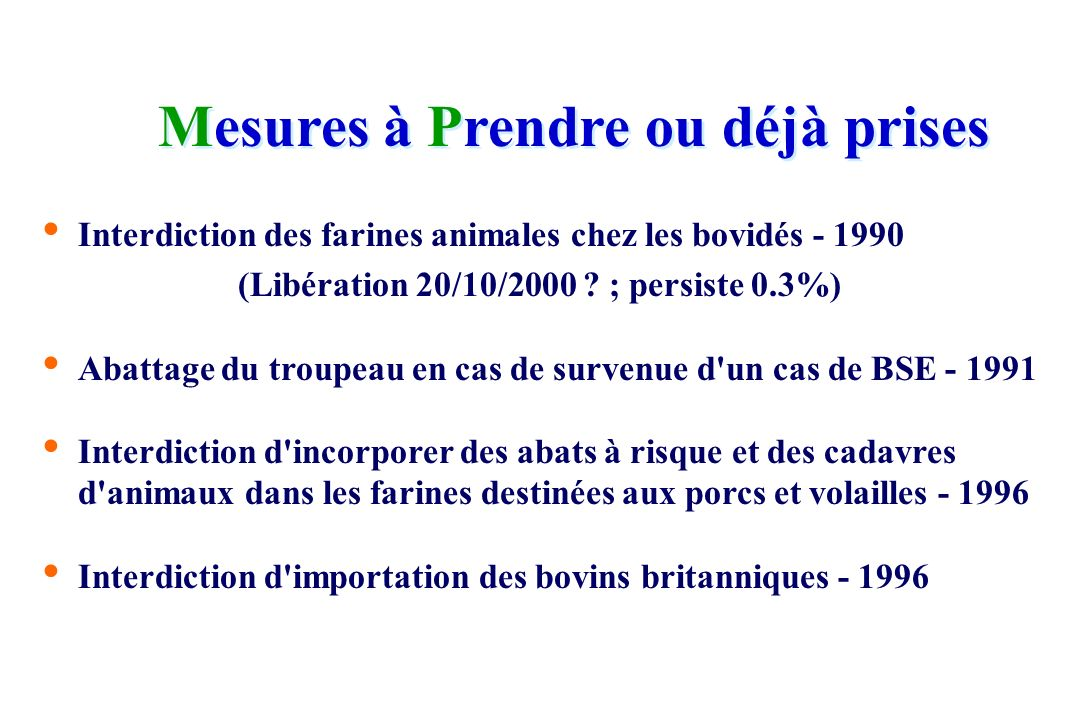 (Libération 20/10/2000 ; persiste 0.3%)