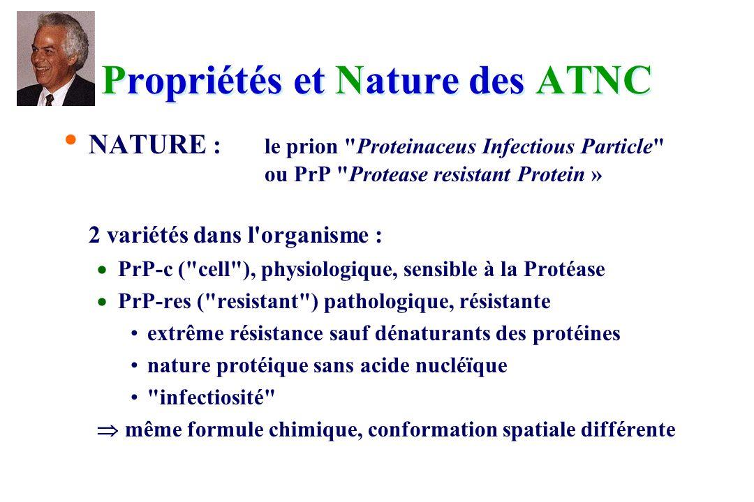 Propriétés et Nature des ATNC