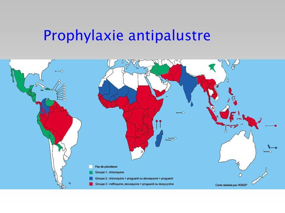 Prophylaxie antipalustre