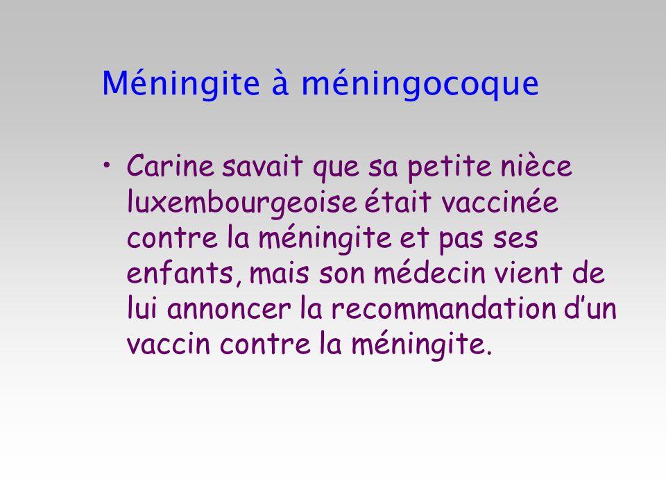Méningite à méningocoque