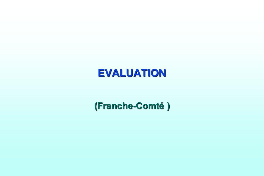 EVALUATION (Franche-Comté )