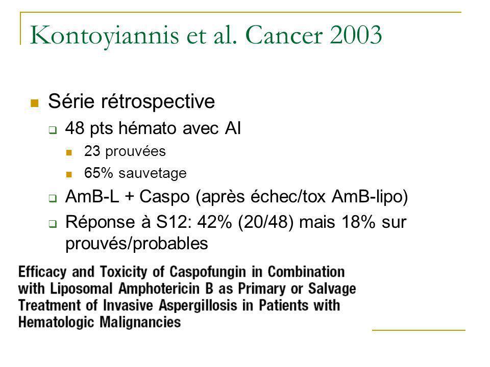 Kontoyiannis et al. Cancer 2003