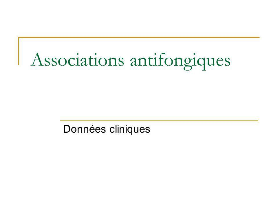 Associations antifongiques