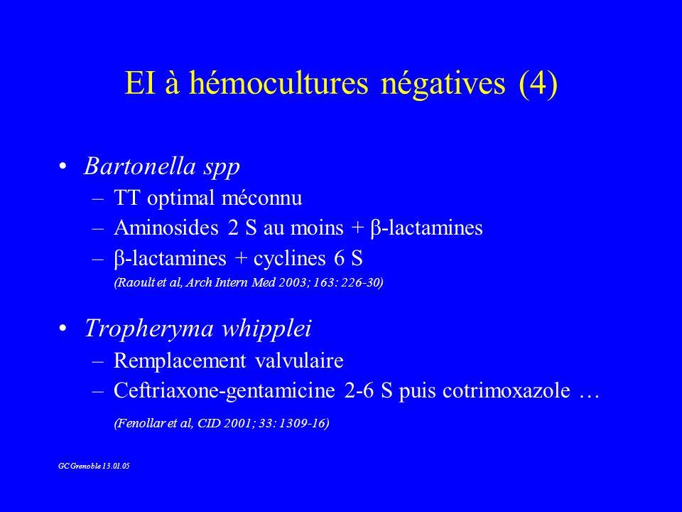 EI à hémocultures négatives (4)