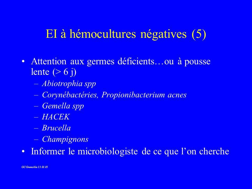 EI à hémocultures négatives (5)