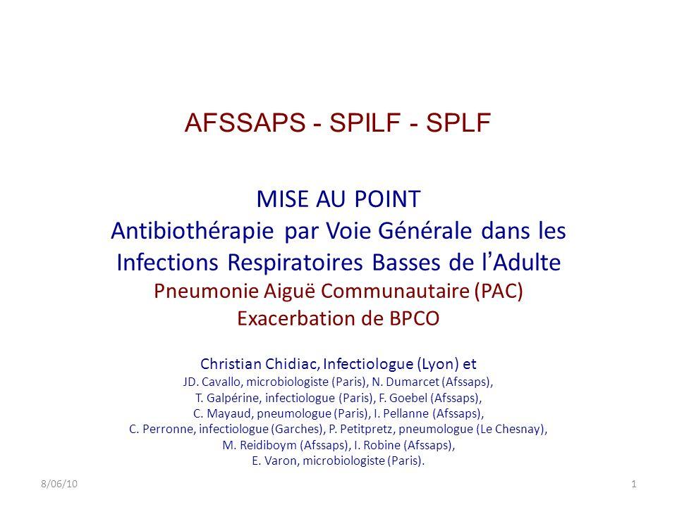 AFSSAPS - SPILF - SPLF