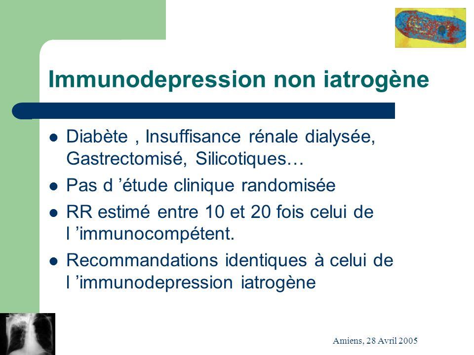 Immunodepression non iatrogène