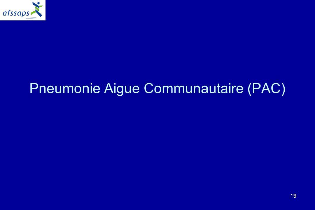 Pneumonie Aigue Communautaire (PAC)