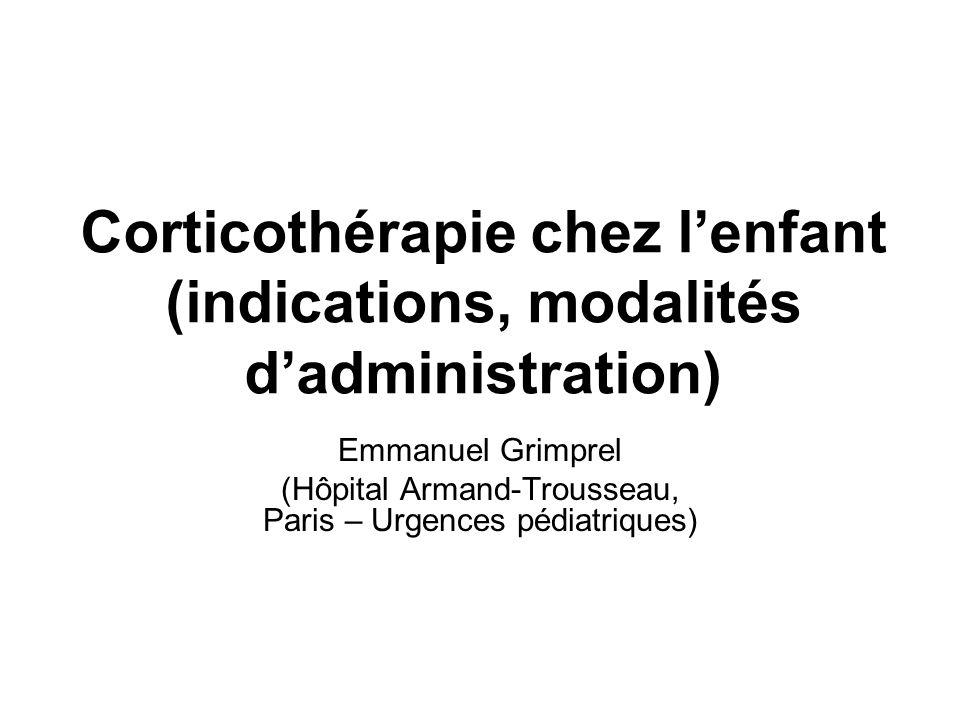 (Hôpital Armand-Trousseau, Paris – Urgences pédiatriques)